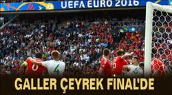 Galler Çeyrek final´de